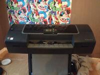 """HP DESIGNJET Z2100 24""""+INK BUNDLE BARGAIN!!!"""