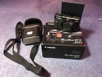 Canon g7x Mark ii Camera VERY VERY good condition includes case and 64gb kingston sd card!