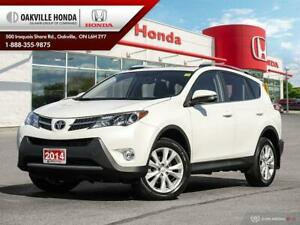 2014 Toyota RAV4 1-Owner|Clean Carfax|Navigation|Sunroof|Leather