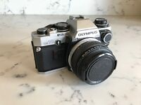 OLYMPUS OM-10 Film/Analog Camera with 50mm Lens
