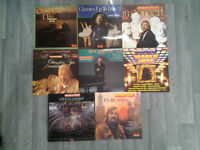 Collection Of James Last Vinyl Lps. (8).
