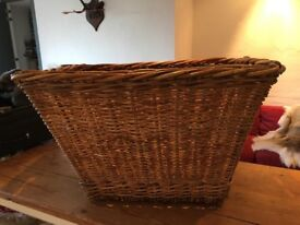 BASKET, wicker, large, suitable for a toy box or storage, good condition only £30