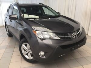 2014 Toyota RAV4 XLE: AWD with Low KMS