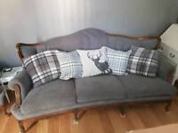 French Style Sofa & Chair Stunning Quick Sale Needed