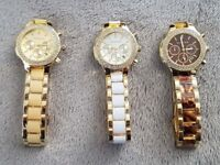 *** MK Watches, 3 Colours Available, Fully Boxed ***