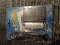 DIGITAL TV LAPTOP DONGLE AND REMOTE FOR FREEVIEW TV VIEWING