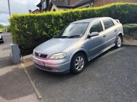 2001 Vauxhall Astra 1.6 Petrol - 4.5 months MOT - Quick car, new timing belt @ 105k