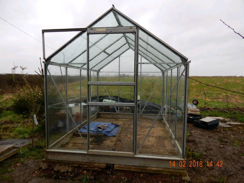 Greenhouse, 8ft x 6ft