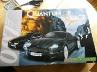James Bond Quantum of Solace scalextric used once
