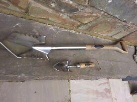 Spear & Jackson Metal Detecting Stainless Steel Spade, Digging Tool Combo (50#)