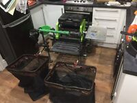 Full match fishing setup excellent condition