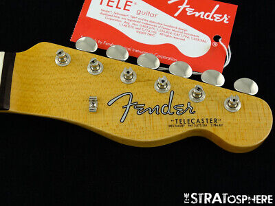 "USA Fender Custom Shop 1963 Telecaster NOS NECK + TUNERS Tele 63 Rosewood ""C"""
