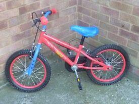 Children's spider man / spiderman bike