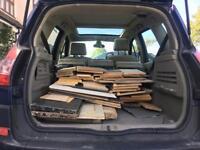 Free scrap wood.