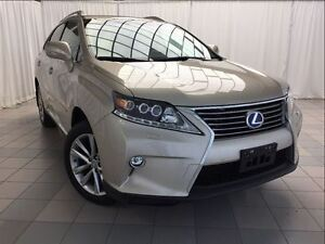 2015 Lexus RX 450H Technology Package: 1 Owner, Hybrid. ECP Gold