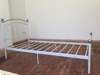 Traditional Style Metal Single Bed / Can Deliver