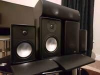 Canton speaker set up 5.1