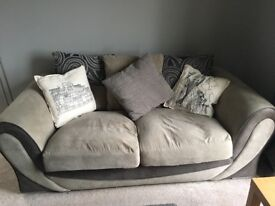 Grey Two-Seater Sofa for sale