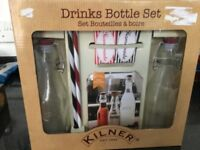 Kilner drinks bottle set