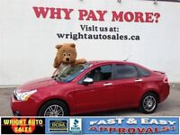 2011 Ford Focus SE| SYNC| HEATED SEATS| 87,643KMS| $9,777.00