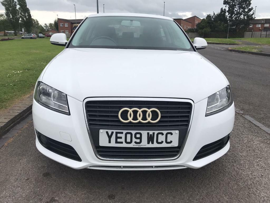 audi a3 1 9 tdi 2009 white in hemlington north yorkshire gumtree. Black Bedroom Furniture Sets. Home Design Ideas