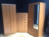 Wardrobe bedroom set