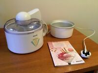 Philips Delizia Ice-Cream & Sorbet Maker (Collect Only)