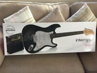 Brand new electric Guitar with Amp