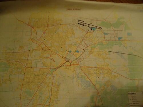 NATO / ISAF Military Topographic Map - KABUL (Afghanistan), circa ed.2004,