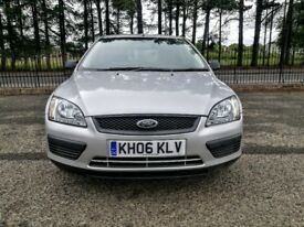 FORD FOCUS LX 1.8 TDCI..NEW LONG MOT..LOW MILGE 82K.NEW OIL+FILTER.NO ADVISO..SILVER..5D..FSH ..VGC.