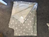 Nursery curtains - grey stars from John lewis