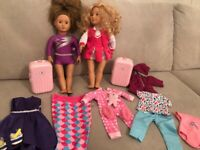 Our Generation Dolls and clothes