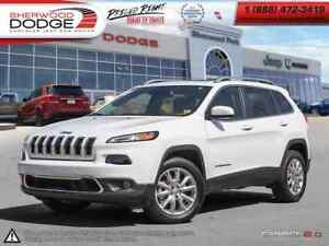 2016 Jeep Cherokee LIMITED | 9-SPD | LEATHER | NAV | BLIND SPOT