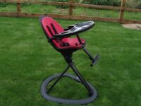 Highchair - Ickle Bubba Orb hygenic and versatile