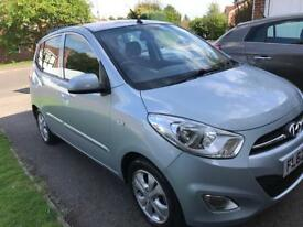 Hyundai i10 1.2 2012(62), Manual, 18000 miles, 1 lady owner, FSH