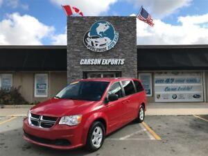 2012 Dodge Grand Caravan CLEAN SE! $119.00 BI-WEEKLY+TAX!
