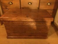 Pine Chest / Trunk / Bedding Box