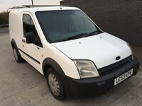 2003 53 plate Ford Transit Connect 1.8 Diesel van with roof rack