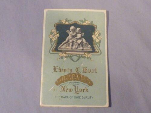 Vintage Edwin C. Burt Victorian Style Shoe Catalog