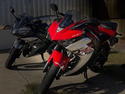 ** YAMAHA YZF-R3 2016 RED - SUPER SPORTS - 3 MONTHS REGO **