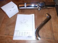 Grohe Europlus Infrared thermostatic mixer tap