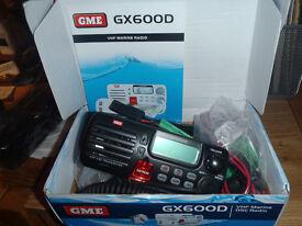 New Marine Band VHF Radio GX600D