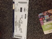 4 Craig David tickets -Friday 31st March
