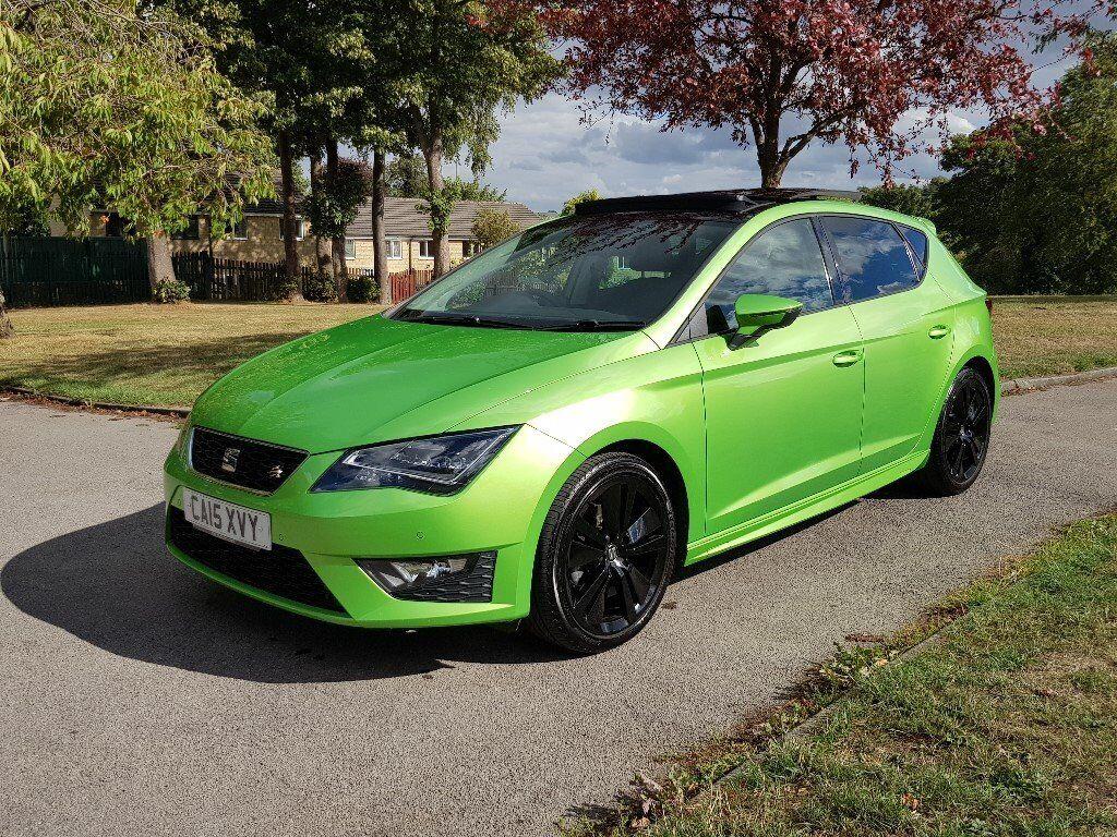 2015 Seat Leon 2.0L FR Technology Pack Rare Lima Green ...