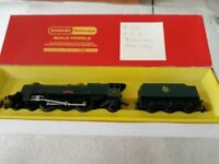 Hornby train R053 4-6-2 Princess Loco Green Livery