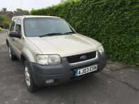 2003 Ford Maverick 'Escape', 2l XLT, 4x4, Petrol, Manual, 122bhp,