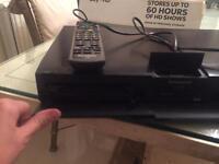 Panasonic blu-ray player & remote control