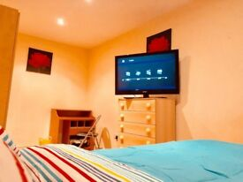 Luxury large room, 3min Tube ,TV LCD,Very Clean, Fibre Optic, Nespresso Machine, EU AU, CA preferred