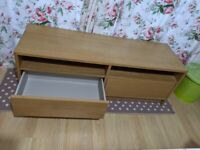 IKEA TV unit with drawers
