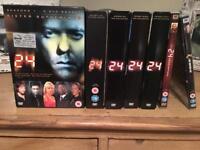 Complete 24 DVD box set